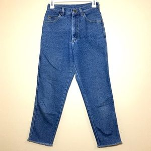 Lee Jeans high waist blue jeans